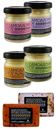 handmade natural greek cosmetics esthique balm pure
